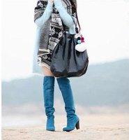 Korean new high heel boots over knee boots women fashion boots