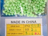 Free Air Post! 500pcs Per Lot #3.5 Fishing Glow Bead Green Wholesale Fishing Tackle
