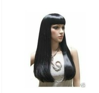 COS LONG STRAIGHT BLACK FULL WIG +Brazilian fashion