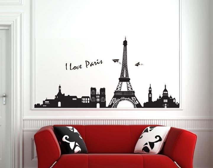 Elegant ... Eiffel Tower Stencil For Walls ... Part 21
