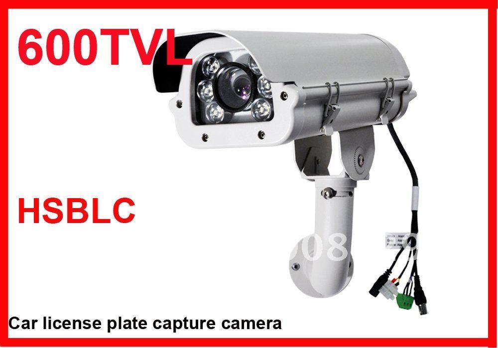 CCTV segurança HSBLC carro placa de captura CAM 600TVL(China (Mainland))