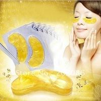 Hotsale10pcs Gold Crystal collagen Eye Mask Hotsale eye patches 10pcs=5packs