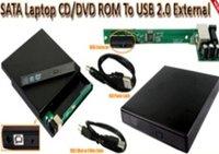 SATA to USB, USB External Slim CD/DVD Optical Drive Enclosure Case