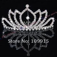 Free Dropshipping  elegant cheap Bridal wedding crown tiaras  LKT0005
