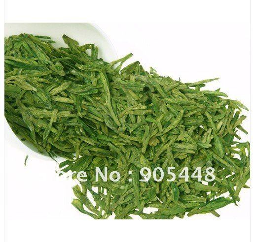 Premium New 100g XihuHangzhou Dragon Well Chinese Longjing Tea Organic Green Tea Free Shipping(China (Mainland))