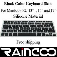 "For EU&UK verion macbook keyboard protector 13"" 15"" and 17"", For EU macbook keyboard skin, for UK macbook keyboard cover"