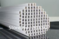 50pcs 3.0*3.0mm square tube  ABS Plastic pipe MA01-16 50cm length free shipping