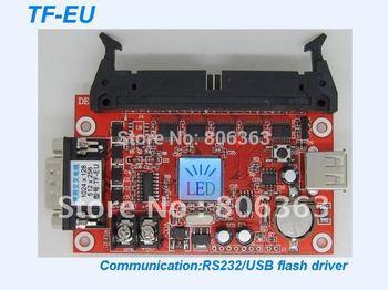 tf-eu表示制御カードを導いた, 小型のフルサポートp10色の署名, サポート512ピクセル単一色高さ