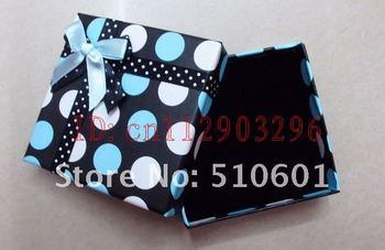 Free Shipping! Wholesale100 PCS rectangleGift box Ring Boxes , necklaces box,9x9cm