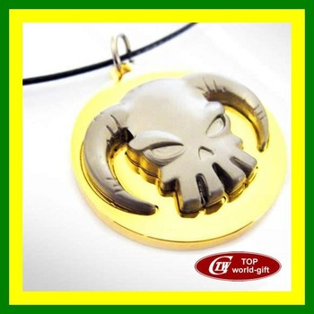 Free Shipping  ONE PIECE Collection Anime Luffy Chopper Skull String Necklace Cosplay TWNO2008