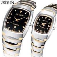 JSDUN Brand Watch Tungsten Watches 2014 new design sapphire glass 3 ATM Water Resistant  high quality pure carbide tungsten 8608