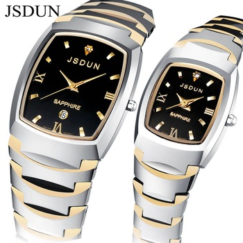 JSDUN Brand Watch Tungsten Watches 2012 new design sapphire glass 3 ATM Water Resistant  high quality pure carbide tungsten 8608