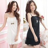 2012 new Korean lace  sexy Camisole slip dress