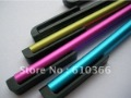 For Wholesale 1000pcs Stylus capacitive touch pen mutil-touch anti-scratch ultra-soft tip for iPad iPhone 3.5mm earphone jack