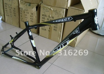 Wholesale! New ASPECT 45 Aluminum alloy Mountain bike frame/MTB Bike frame /bicycle frame 17inch 1800g