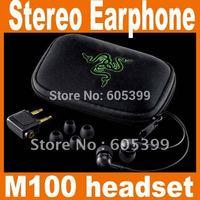 NEW Razer Moray M100 headset Stereo Gaming Earphone free shipping