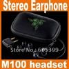 NEW Razer Moray M100 headset Stereo Gaming Earphone free shipping