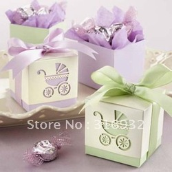 Damask Wedding favor paper box favour gift candy box(China (Mainland))
