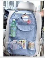 Car Multi Back Seat Pocket Storage Organiser Bag Bamboo charcoal,Car seat bag,free shipping