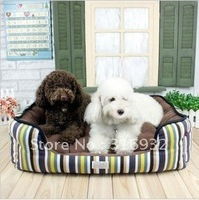 Y3 NEW arrival, large size,Colorful stripe dog bed,pet prdouct, good quality