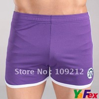 Free Shipping Sexy Breathable Sexy Mens Sports Underwear Short Boxers Briefs 4 Size XS~L  CL2542