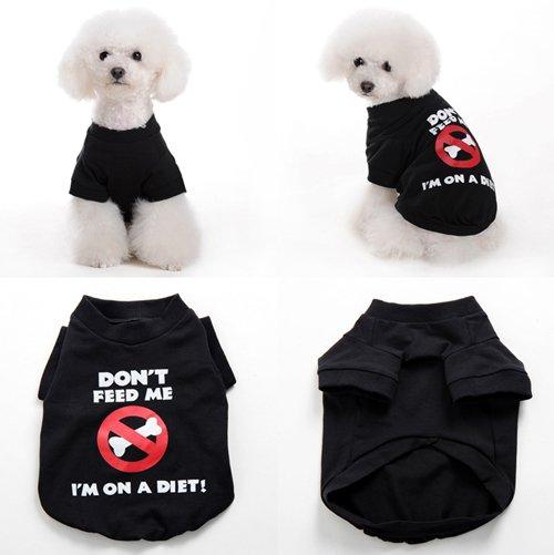 dog clothes XS XL cute dog s t shirt dog t shirt print iam on a Cute