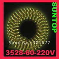 SMD3528,LED60,220V LED strip,5m per set