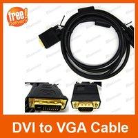 DVI кабель 6FT/1.8m DVI Cable Video Line For PC HDTV, 24+1pin DVI-D, 1pcs