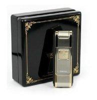 The tiger brand lighter straight at lighter between 701-04 TJ701 nickel gold color quality goods shop random