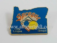 FREE SHIPPING, die struck iron baseball pins,baseball pin badge,baseball trading lapel pins