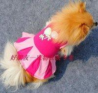 wholesale  fashion dog pink cute lollipops  dress size xs-l