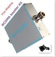 Free shipping1 set WCDMA 2100Mhz 50dB 3G mobile signal booster 3G signal repeater 3G mobile signal amplifier(coverage 300-500m2)