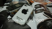 Tribute to Steve Jobs PC Housing for iPhone 4 4s,Back Cover,4pcs/lot,Mobile Phone Accessories,Free Shipping