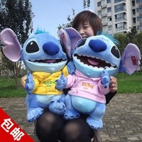 40cm wholesale and retails Stitch doll plush toys soft stuffed toys freeshipping