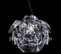 Free Shipping modern pendant lamp D650mm  pinecone clear acrylic dinning lighting also ship for wholesales shippment
