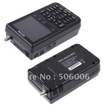 """Special offer & Free Ship ! SATlink WS-6906 3.5"""" DVB-S FTA Data Digital Satellite Signal Finder Meter,WS 6909"""