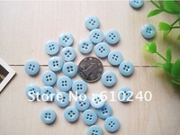 children's buttons  monopoly resin buckle chaff fruit color buckle shirt buttons 001