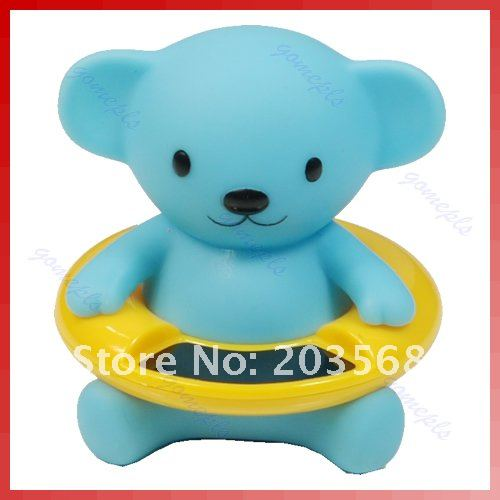 D19+Cute Bear Bath Tub Baby Infant Thermometer Water Temperature Tester Toy New
