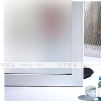 Retail 45*100cm  Static Cling  Decorative Privacy Glass Window Film