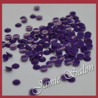 Wholesale Color Purple 10000pcs Nail Art Decoration Resin Rhinestones 3mm ( ss12 )