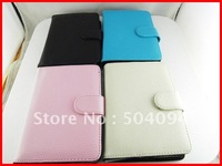 "New PU Leather carrying case cover for 4.3"" inch GPS /MP5/ MP4 /Ebook reader"