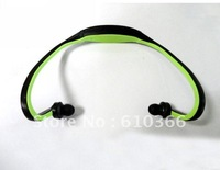 200pcs Sport mp3 player Earhook mp3 player 2GB Wireless Protable design with retail box DHL free shipping