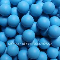 200pcs/bag 0.68 Blue reball for paintball rubber ball  training
