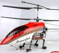 Recommend  best quality  Deluxe 105cm 3.5ch Gyroscope System plastic Frame RTF RC Helicopter Toy with LED lights QS8005 8005