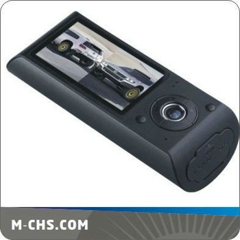 "2.7"" Dual camera HD dual view car black box gps"