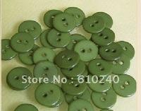 Children's plane round resin buttons / 007