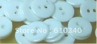 Children flat round resin buttons / 012