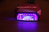 free shipping! 36W CCFL+LED Diamond Nail lamp, 12w CCFL+24w LED.