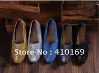 Free shipping  women recreational shoe canvas shoes (20pcs/pairs)