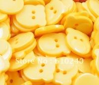 Wholesale  120PCS hot Winnie the color buttons / children's cartoon buckle Pine Valley garment accessories / 025